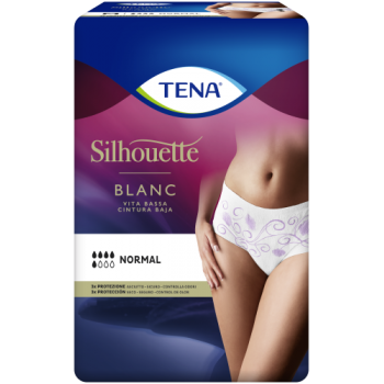 TENA SILHOUETTE NORMAL BLANC
